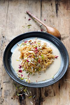 Flavoured rice pudding, Bollywood Kitchen's style!