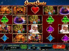 Lasst uns drehen kostenlos Automat Secret Santa - http://freeslots77.com/de/kostenloser-online-spielautomat-secret-santa/