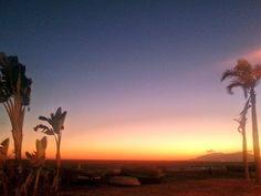 Atardecer en la Axarquía de Málaga / Sunset over la Axarquía, Málaga, by @ZotanoManu