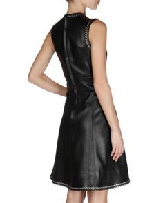 Day to night: Balenciaga leather