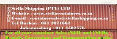 Stella Shipping (PTY) LTD // Container Sales, Rentals, Conversions and Transportation Container Sales, Shipping Containers For Sale, Conversation, Transportation
