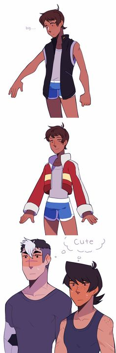 Image result for voltron keith x lance fusion