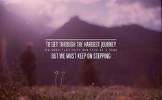 keep on stepping!