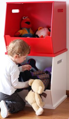 Stackable Storage Box | Toy Storage | Toy Box | Toy Storage | Kids Storage