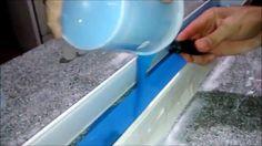 Como fazer molde para moldura de gesso com silicone