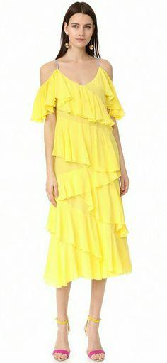 ☆Anna October | Ruffled Dress