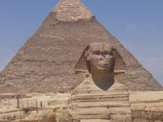 The Great Sphinx in Egypt.