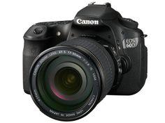 Canon EOS 60D angle