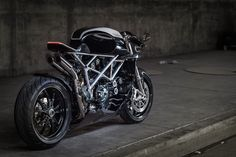 "Ducati 848 Custom ""Le Caffage"" by Apogee Motoworks #motorcycles #caferacer #motos 
