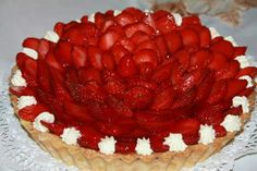 Tarta de frutillas con pastelera