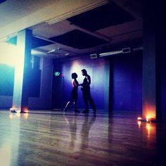 Cheryl Burke and Antonio Sabato Jr. Rehearsing the Rumba for #DWTS #DancingWithTheStars