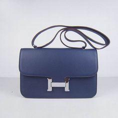 birkin handbag price - Pre-owned HERMES CONSTANCE BAG 24CM DOUBLE GUSSET SAPPHIRE EPSOM ...