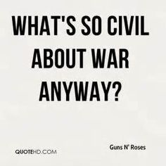 """Civil War"", guns n' roses"
