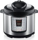 Instant Pot IP-LUX60 6-in-1 Programmable Pressure Cooker, 6.33 Qt, Latest 3rd Generation Technology, Stainless Steel Cooking Pot and Exterior, Black, http://www.amazon.ca/dp/B0073GIN08/ref=cm_sw_r_pi_awdl_0-uLwb18XJM6C