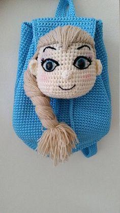 Frozen Queen Elsa Frozen Disney Princess backpack Handmade