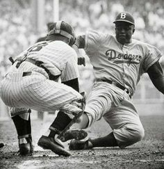 The first African American individual to play major league baseball: Jackie Robinson