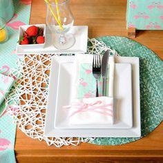 Eine einfache und schöne Tischdekoration für ein Dinner mit Deinen Liebsten.