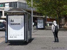 Brandalism - L' arte di sovvertire la pubblicità. La ribellione contro la dittatura visiva imposta dai giganti dell'advertising, colpevoli di mantenere una stretta mortale sui messaggi veicolati, alimentando le insicurezze, l'infelicità, e di conseguenza il consumismo.