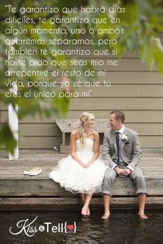 Amor, compromiso, matrimonio, boda, frases, kisstell