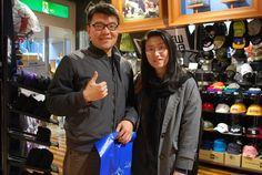 【大阪店】2014.11.19 観光で来ていただきました!!仲の良いカップルでほっこりしました(*^_^*)スナップありがとうございます!