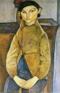 Amedeo Modigliani Young Gypsy 1909