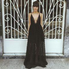 Os Melhores Looks da Semana - Catharina Dieterich com vestido AYA