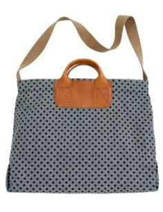Madewell Dotted Caravan Mailbag, $99, one of our many great bags for a weekend getaway