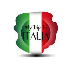 Progettazione logo per azienda dedicata ai turisti, per far conoscere i costumi, gli usi le tradizioni del made in Italy. My Trip To Italia #design #logo #grafica #graphic #Italy #company #tourist Graphic Creations