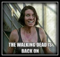 The face I make every monday during TWD season 😉