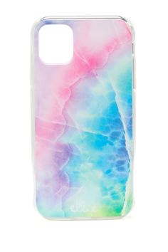 Ellie Los Angeles Rainbow Marble iPhone XR & 11 Case, Size One Size - Rainbow Marble at Nordstrom Rack