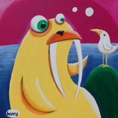 Walrus Art (Henry)