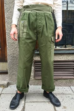 Nigel Cabourn Bombay Pant Army