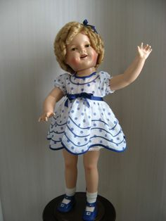"27"" Composition Shirley Temple Doll"