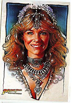 Willie Scott (Kate Capshaw) - Indiana Jones and the Temple of Doom (1984 c4ab62784d6