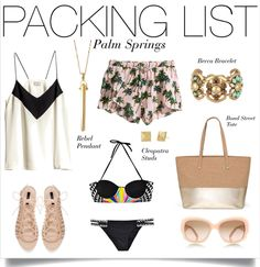 Get your Palm Springs PACKING LIST inspiration with Stella & Dot's new fall line pieces! #Vacation