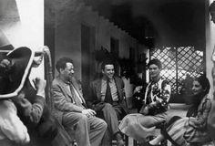 Frida Kahlo, Diego Rivera, Cristina Kahlo, Miguel Covarrubias.