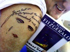 15 Awesome 'Great Gatsby' Tattoos