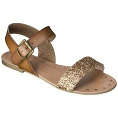 Women& Mossimo Supply Co. Lakitia Sandals - Fashion Colors I am in love with these shoes! Cute Shoes, Me Too Shoes, Pretty Shoes, Glitter Sandals, Sparkly Sandals, Embellished Sandals, Fashion Colours, Crazy Shoes, Shoe Game