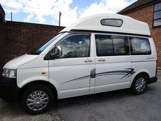 eBay: Volkswagen Transporter T5 Campervan Leisuredrive Vivante 2007 #vwcamper #vwbus #vw Volkswagen Transporter, Vw T5, Vw Camper, Campervan, Vehicles, Ebay, Shopping, Car, Vehicle