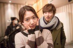 Park Shin Hye and Yoon Shi Yoon Pose Comically in Recent Photos