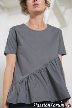 Women's top Women's blouse Grey top Grey blouse Women's tunic Office top Casual top Relaxed top Oversized blouse Loose tunic Grey tunic Top Frauen Frauen Bluse grau Top grau Bluse Damen Tunika Büro Sewing Clothes Women, Woman Clothing, Trendy Clothing, Sewing Blouses, Grey Blouse, Tunic Blouse, Shirt Blouses, Tunic Dresses, Blouse Designs