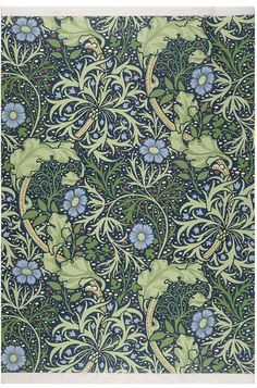 William Morris and his fabulous wallpaper patterns for this chalk pastel drawing project. During the William Morris was a famous British poet, novelist, furniture and textile.
