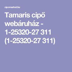 Tamaris cipő webáruház - 1-25320-27 311 (1-25320-27 311)