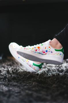 Trends Shaker | Customized Adidas Stan Smith by the Belgian Artist Sabine Nielsen