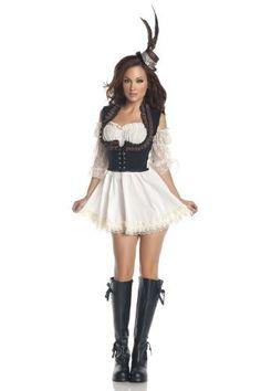 Mystery House Steampunk Lady Dress -  #Dress, #House, #Lady, #Mystery, #Steampunk ML