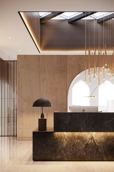 Les plus belles Lobbies et Réceptions Hotel Lobby Design, Hotel Interiors, Office Interiors, Design Entrée, Word Design, Design Ideas, Graphic Design, Office Reception Design, Lobby Reception