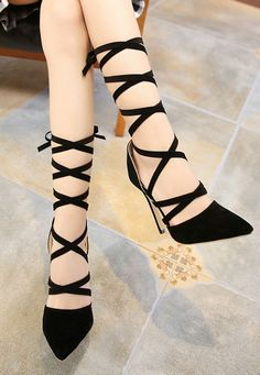 ce6d6e439ae Belt Bowknot Point Toe Heels(Size 35-40) Wholesale High Heels WHOLESALE  SHOES Wholesale clothing