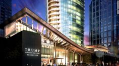 Conflict of interest questions surround the first Trump tower to open since the President's inauguration. CNN's Cristina Alesci reports.
