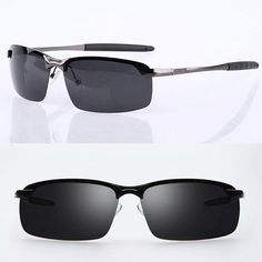 56a6f57246 Polarized Men s Driving Glasses Sunglasses Aviators Outdoor Sports Uv400 Eyewear  Mens Sunglasses
