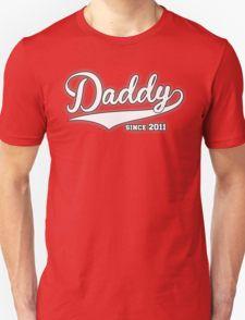 #Daddy #Since #2011 #T-Shirt #dad #daddy #father #tshirt #fathersday #fathersday2016 #2016 #since2000 #since #bestdadever #grandfather #gift #fathers #day #gift #mother #daddy #since #best #dad #ever